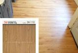 Sàn nhựa giả gỗ 3K Vinyl K110 màu walnut