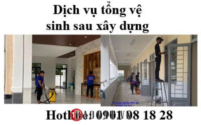 Công ty chuyên cung cấp vệ sinh văn phòng, tổng vệ sinh