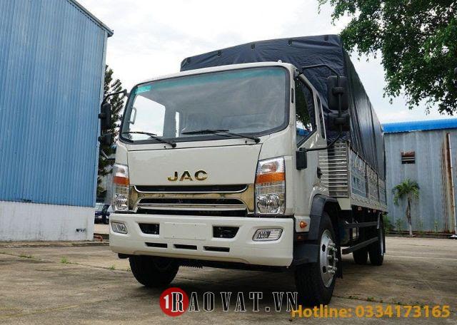 Xe tải Jac 8 tấn N800 thùng dài 7,6 động cơ cummins