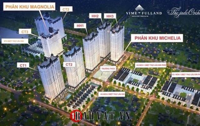 The Jade Orchild Dự án biệt thự liền kề Bắc Từ Liêm Hà Nội