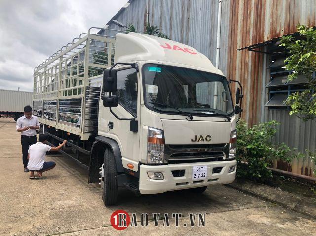 Xe tải jac n800 8 tấn sản xuất 2020 tiêu chuẩn euro 4