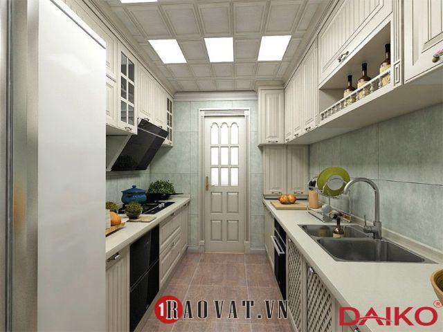 Tủ bếp màu trắng, nên hay không nên làm?