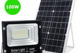Đèn Pha năng lượng mặt trời 100W chuẩn IP67 & pin Mono
