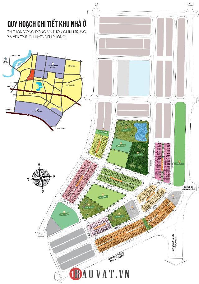 Mở bán siêu phẩm dự án đất nền AN BÌNH VỌNG ĐÔNG- khu công nghiệp Yên Phong mở rộng, Bắc Ninh