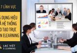 Top 7 lĩnh vực ứng dụng hệ thống đào tạo trực tuyến elearning