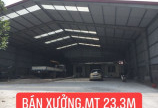Bán nhà xưởng 23m mặt đường cao tốc Hòa Lạc - Hòa Bình
