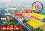 Kẹt tiền do dịch bệnh cần bán nhanh lô đất MB3220 Đông Thịnh - Đông Sơn