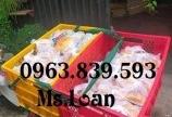 Sóng 5 bánh xe kt 780 x 500 x 430 mm đựng quần áo may mặc. 0963.839.593 Ms.Loan
