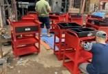 Những mẫu xe đẩy, kệ đựng đồ nghề xe 3 ngăn giá rẻ