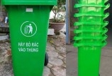 Thùng rác vĩnh long thùng rác 120lit 240lit 0911.041.000